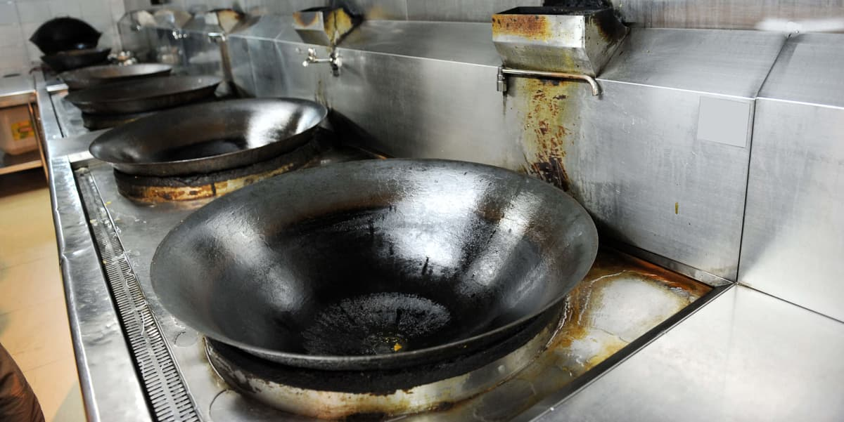 Restaurant Fan and Duct | Grease Trap