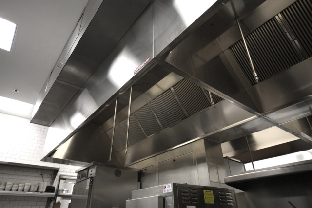 Restaurant Kitchen Deep Cleaning | exhaust hood installation | APS-HOODS | Denver Colorado